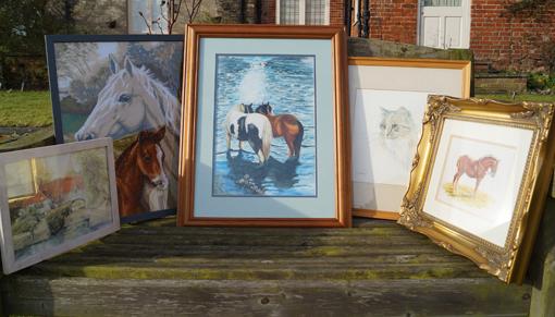 Redwings art sale