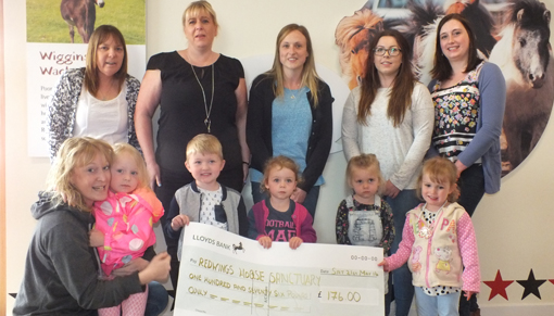 Helping Hands Childcare fundraise for Redwings