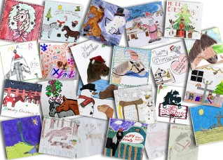 Young Redwings Christmas card competition