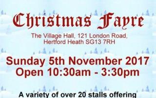 Redwings Guardian organises fundraising Christmas Fayre