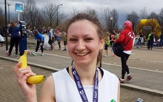 Milton Keynes half marathon runner Megan