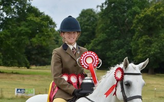 Redwings Noel and Hayley at Kimpton Horse Show